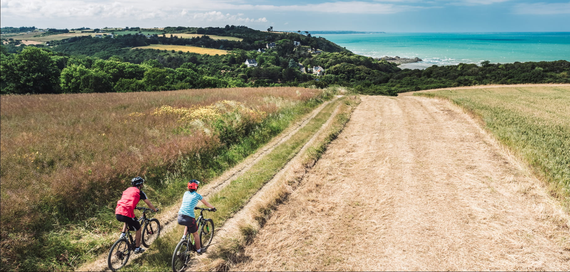 Pointe du Roselier à vélo