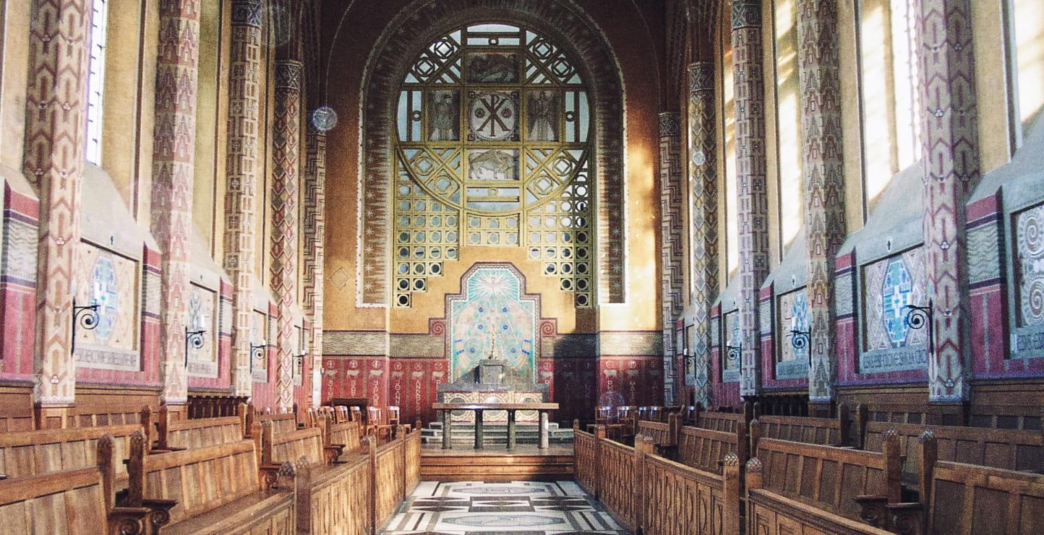 Chapelle Saint-Yves - Art Deco Mosaique Odorico