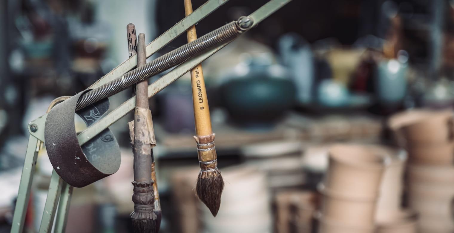 Boutique artisanale, Poterie ceramique