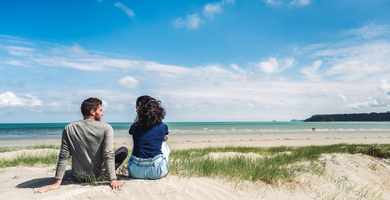Bon Abri, Hillion - Dunes - Couple