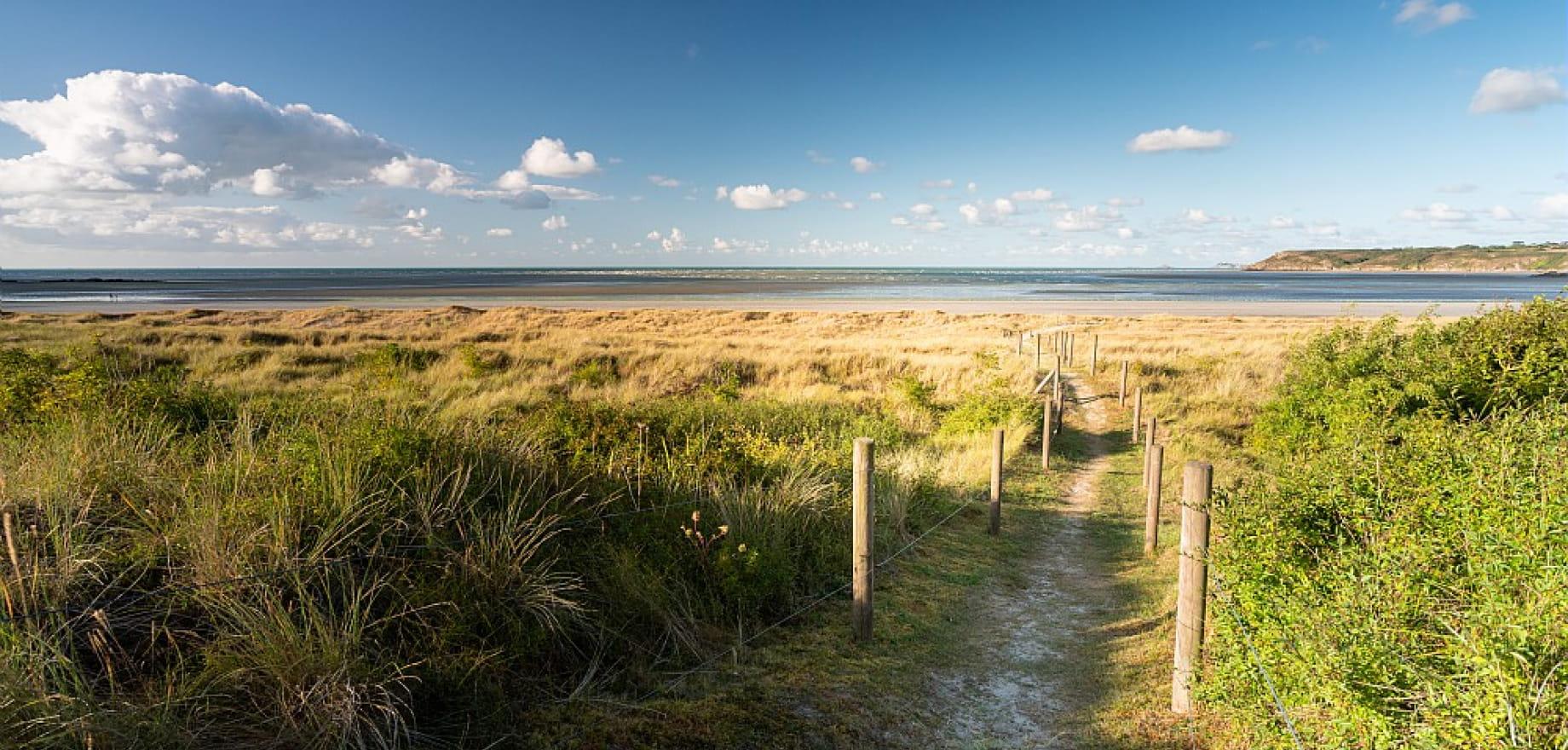 Dunes de Bon Abri, au coeur de la Reserve Naturelle, Hillion