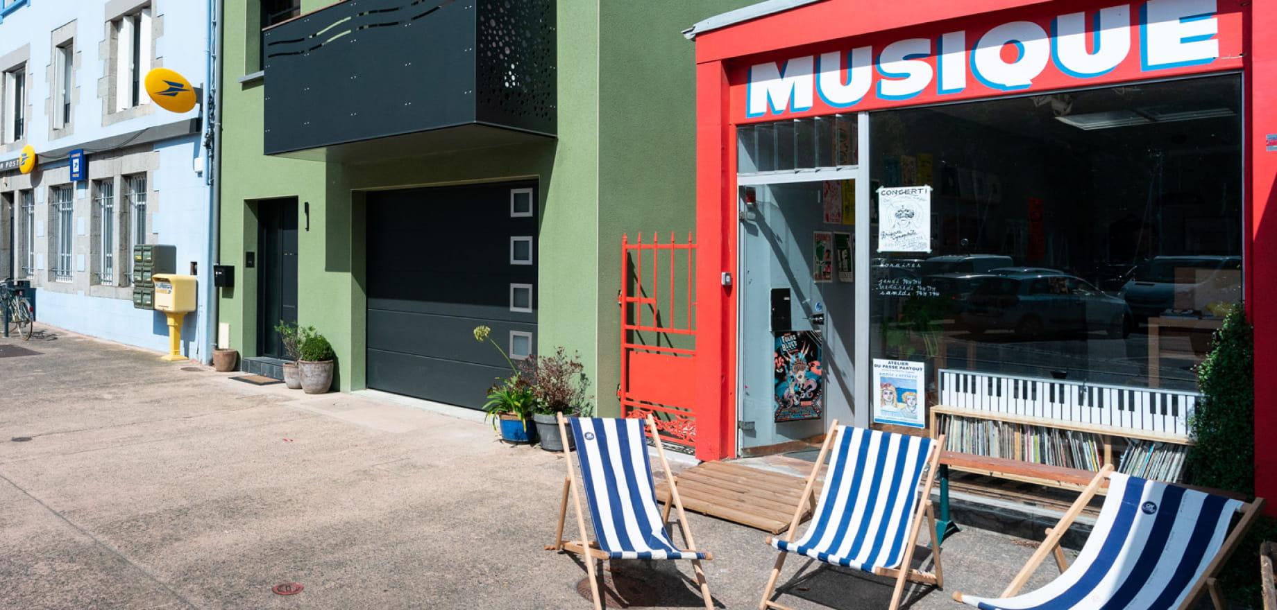 Boutique Musique Le Legue, Saint-Brieuc