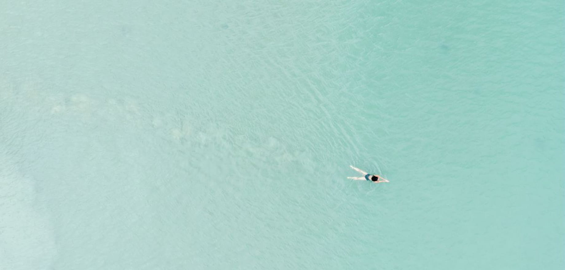 Martin plage, Plerin - Baignade - Vue drone