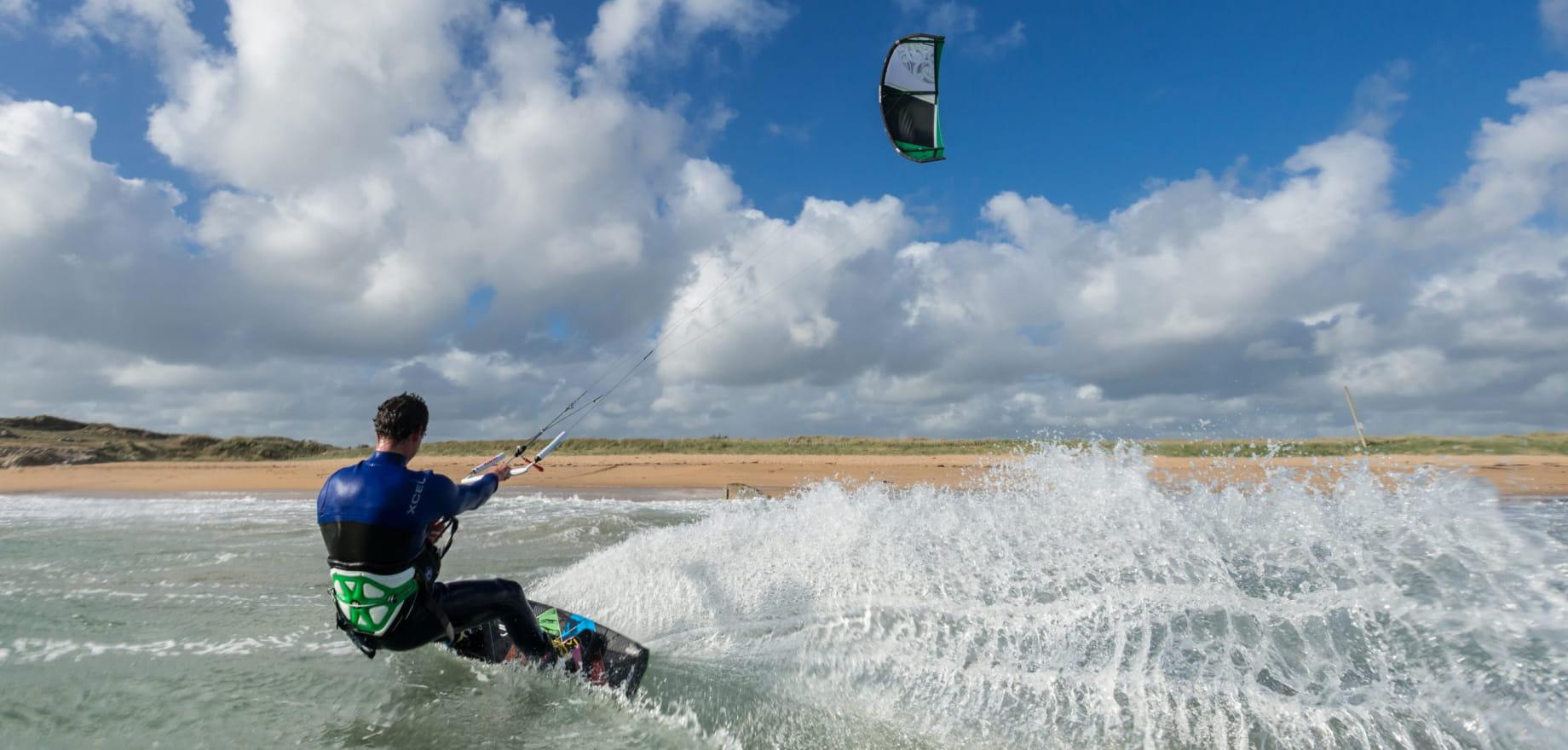 kitsurfeur Etienne Lhote