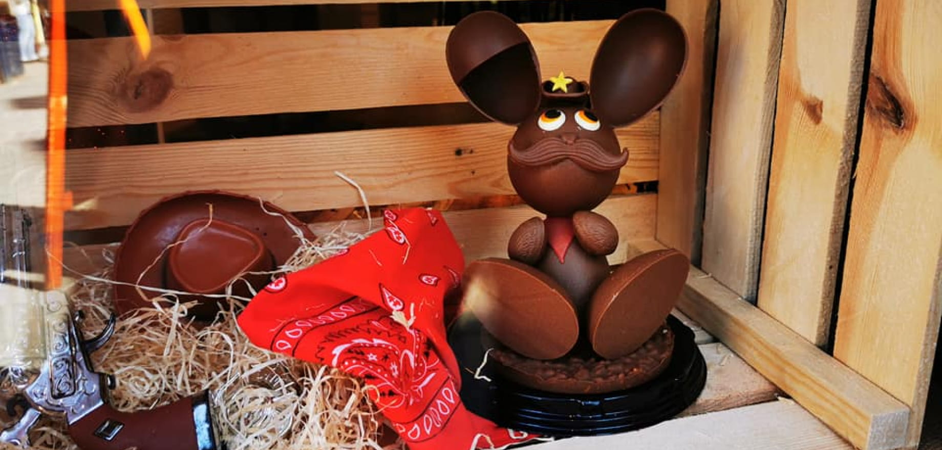 chocolat de pâques lapin en chocolat duchesse de rohan
