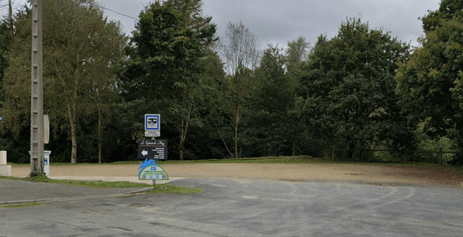Aire camping-car_etang plessis saint carreuc