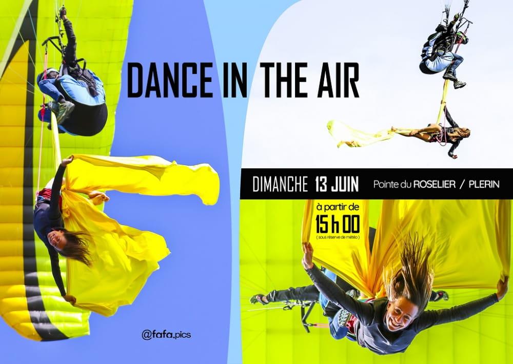 DANCE IN THE AIR AFFICHE S Plerin 2021