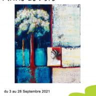 affiche expo Anne Le Doré 2021 Yffiniac
