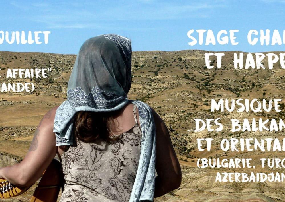 Mandragore - Stage chant et harpe celtique