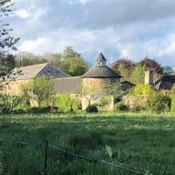 Chateau Granville depuis champ