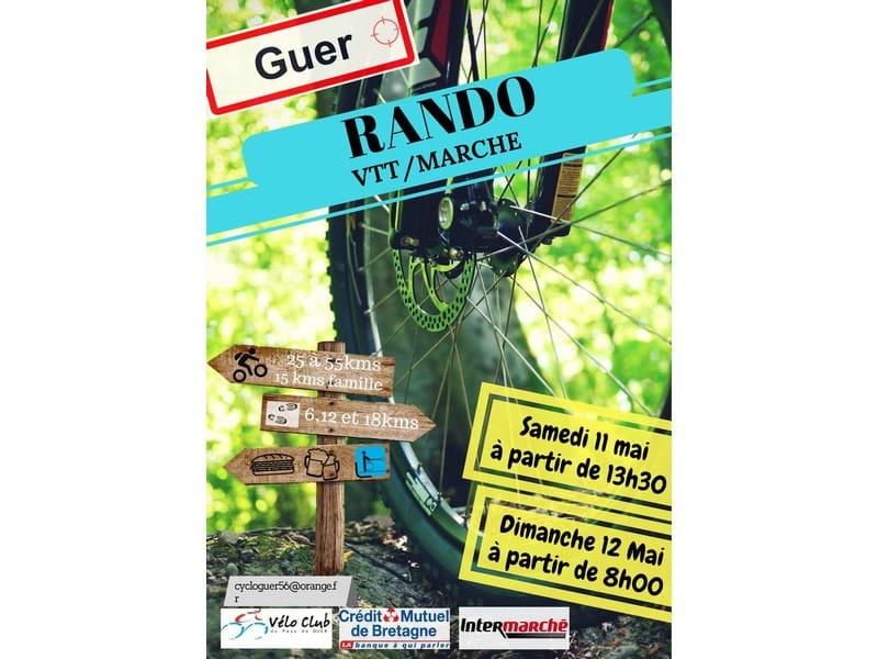 Rando VTT Marche Guer Destination Brocéliande