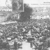 Foire Saint Denis-autrefois_Ploërmel Brocéliande Bretagne
