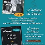 Repas conté 22 février - Auberge du Pélican