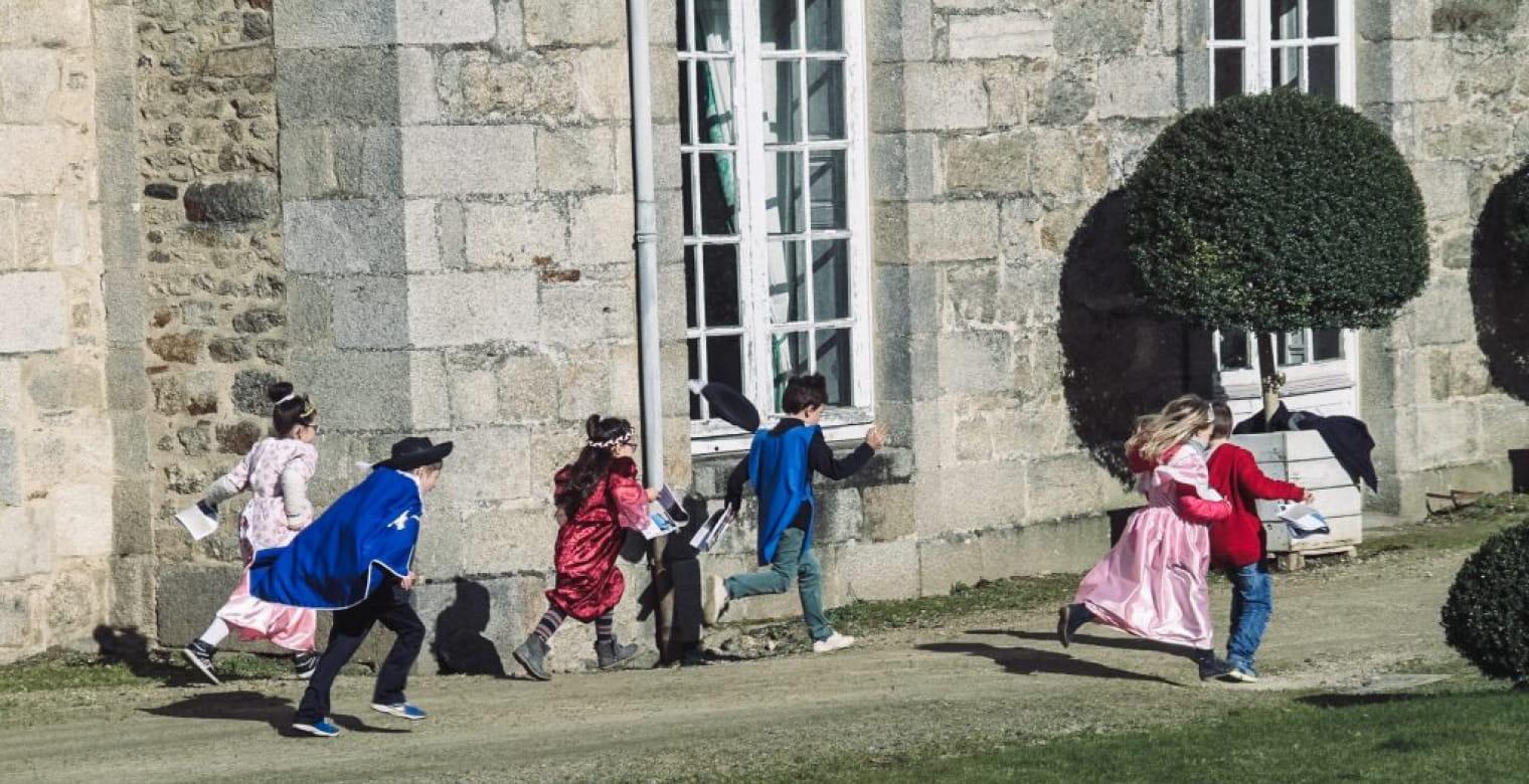 Chateau Quintin enfants