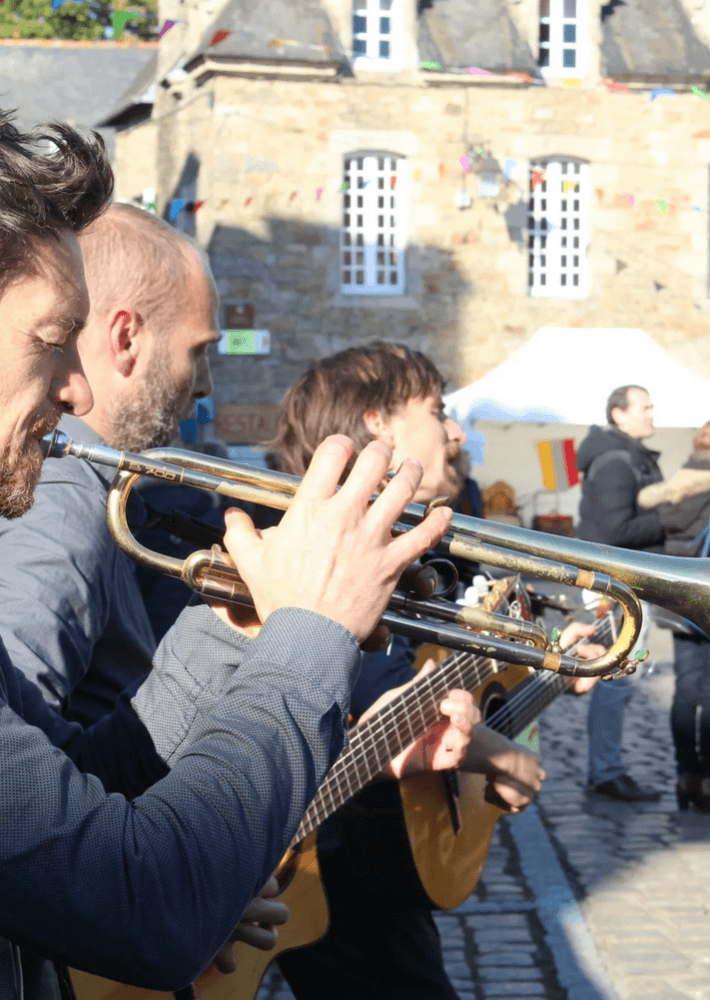 chanteurs de rue 2021 Quintin