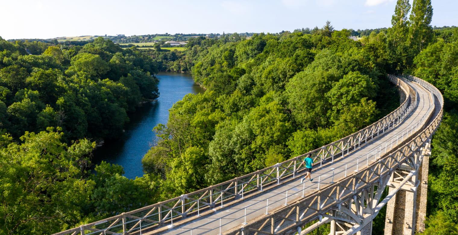 Trail viaduc ponts neufs Hillion