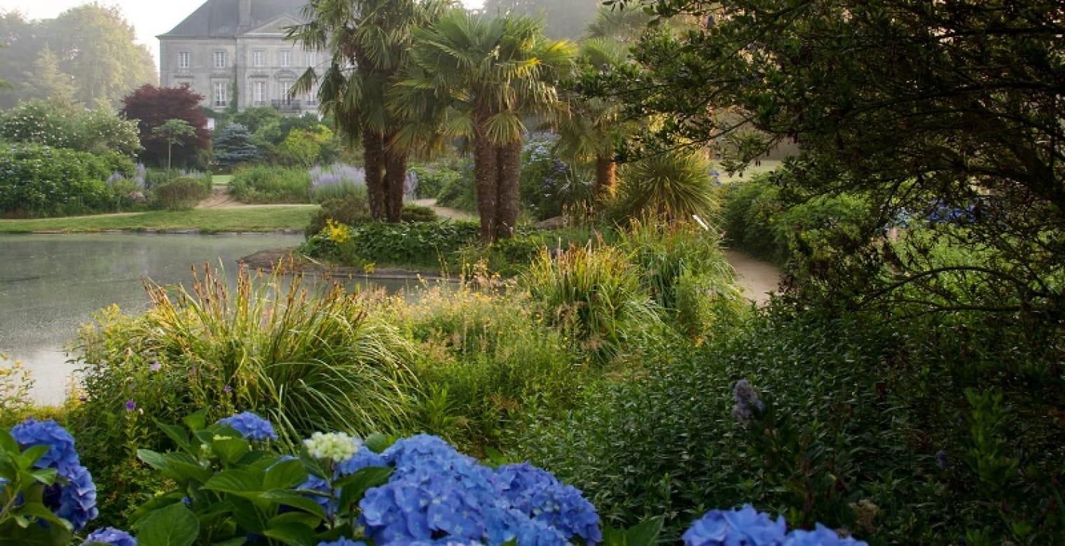 Jardins de la source bleue - Parc Botanique de Haute Bretagne
