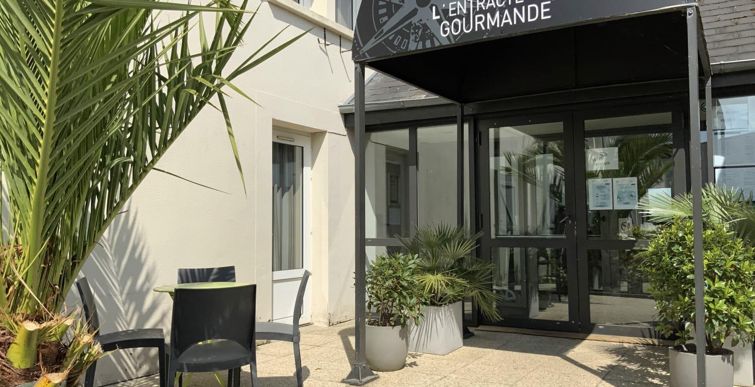 Hotel Eskemm _saint-Brieuc_entrée