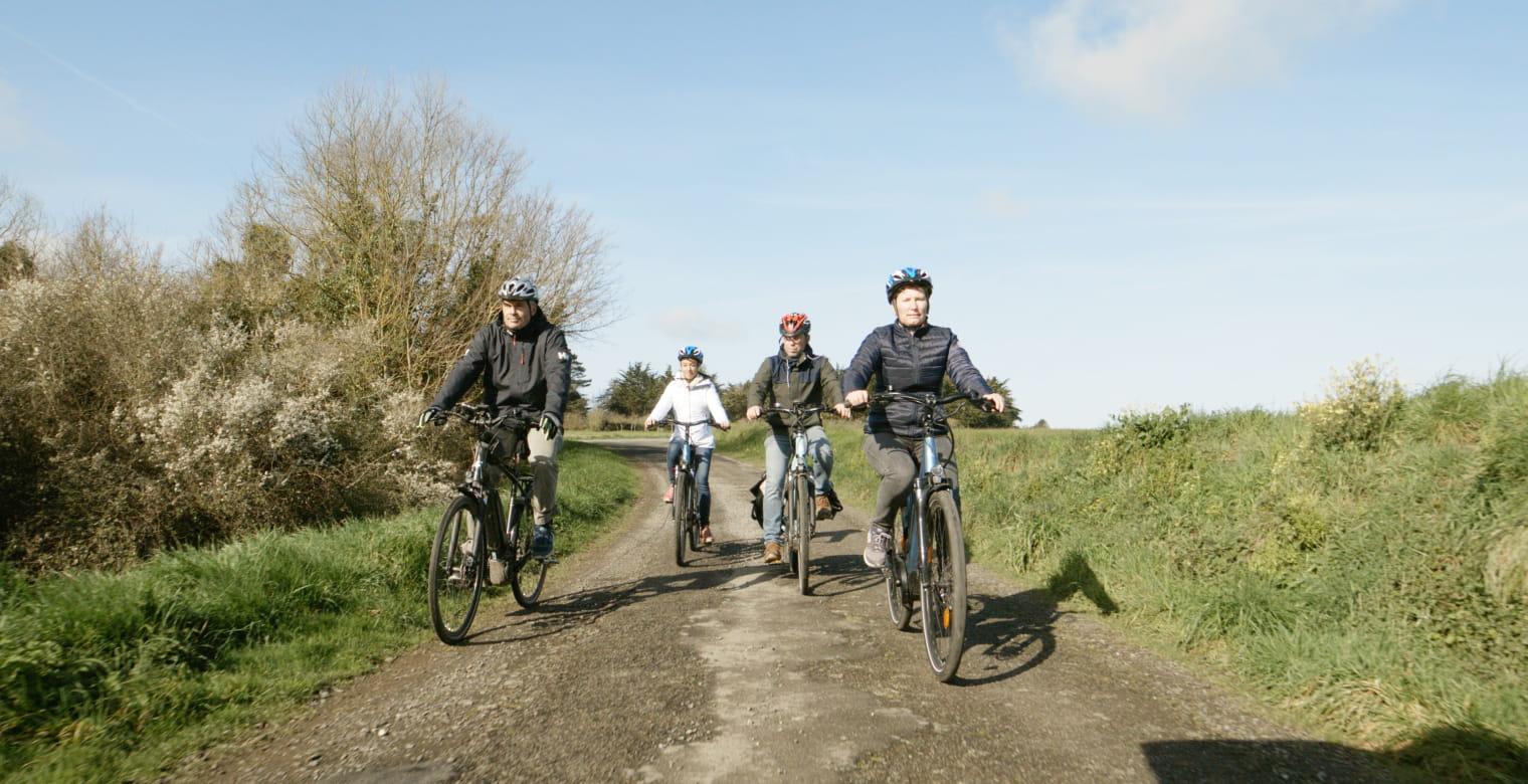 Balade vélo groupe