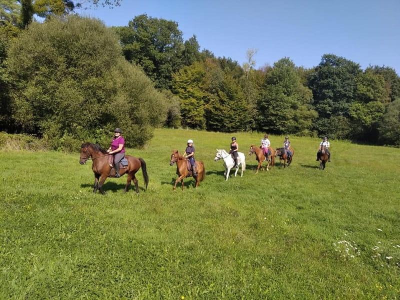 randonnées équestres - écuries de Kerviolo - Loyat - Brocéliande