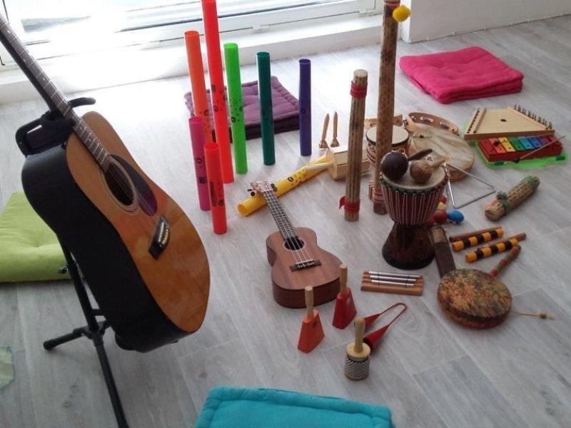 Eveil musical - médiathèque - Ploërmel - Morbihan