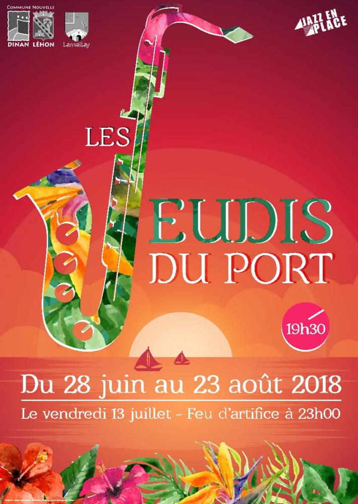 Jeudis du Port 2018 28 juin - 23 août