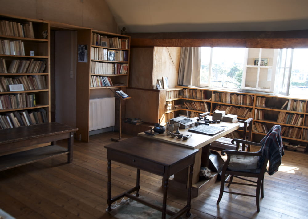 Photo bureau LG Droits Société des Amis de Louis Guilloux