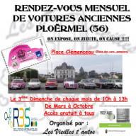 Exposition - voitures anciennes - Ploërmel - Brocéliande - Bretagne