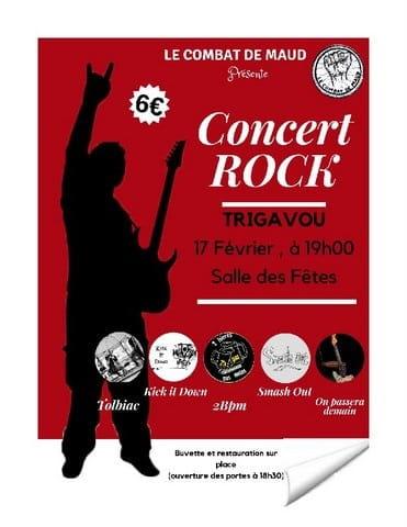 concert-rock 17 février Pleslin Trigavou