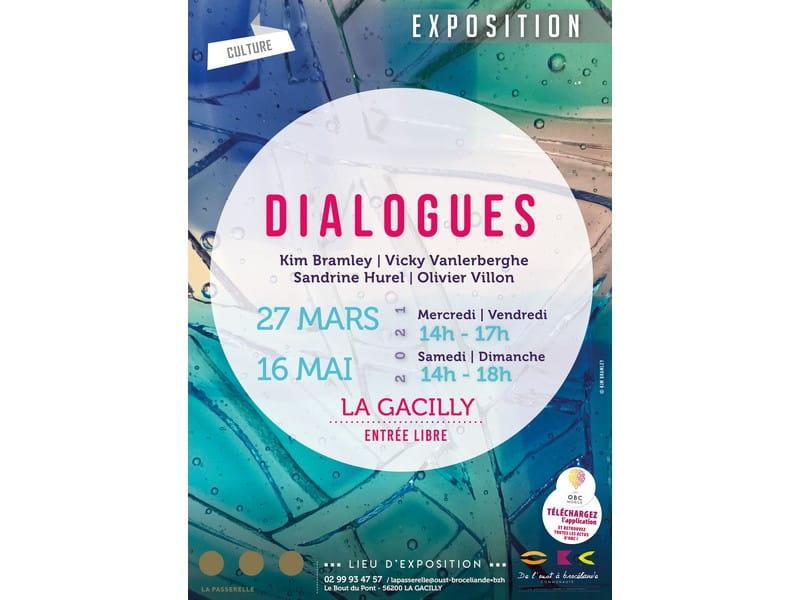 Affiche Dialogues - Copie