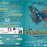 Les Papillonades 1 au 3 juin Verso ST ANDRE DES EAUX