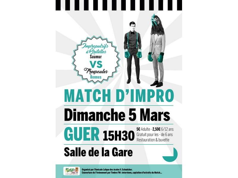 Match d'impro-Guer