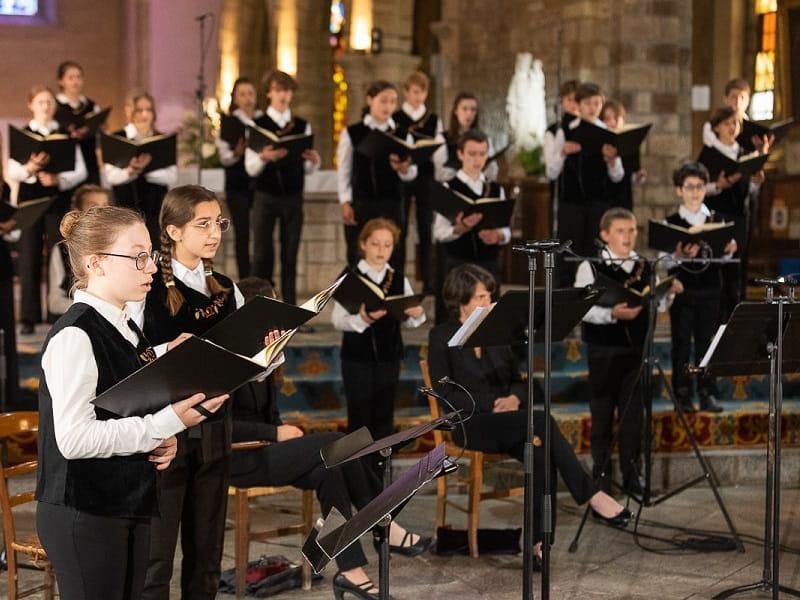 maîtrise de Bretagne - chant chorale - Josselin
